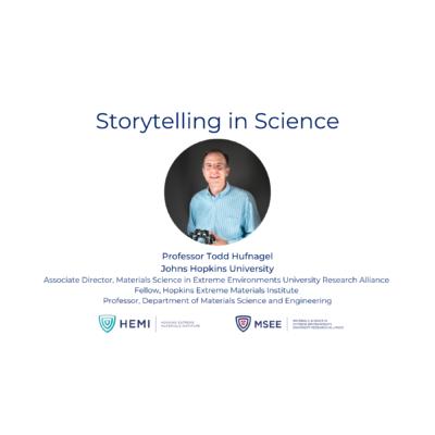 Workforce Development: Storytelling in Science